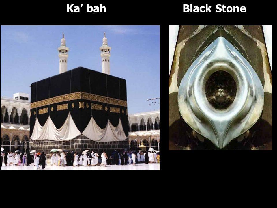Ka' bah Black Stone
