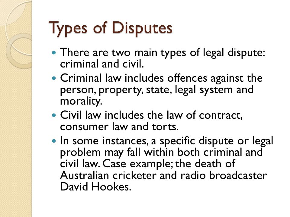 David Hookes Case Study The death of former Australian cricketer David Hookes had both criminal and civil implications.