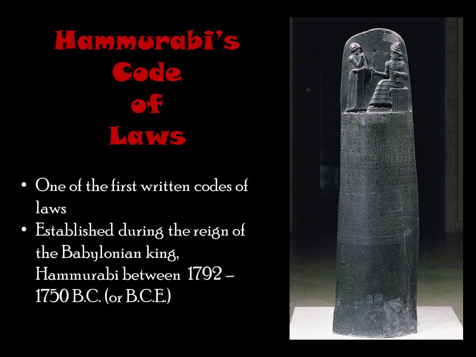 Hammurabi's Code There is a saying today that stems from this sort of justice. What would that be?