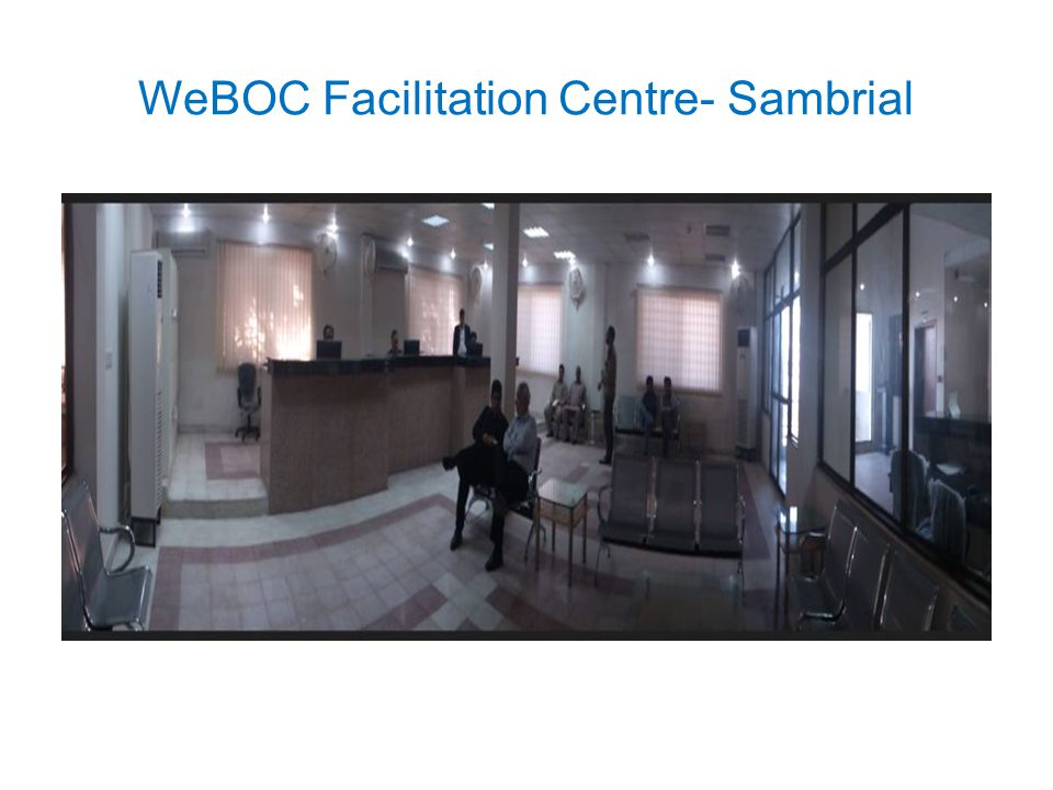 WeBOC Facilitation Centre- Sambrial