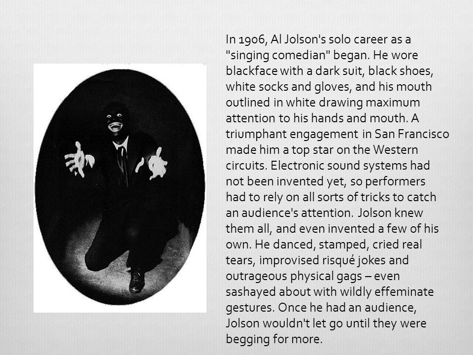 Jolson Sings Again (1949) Columbia Pictures filmed a sequel to The Jolson Story.