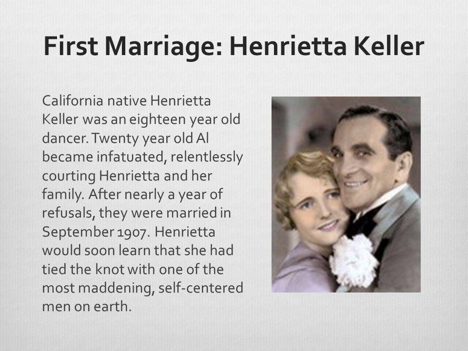 Ruby Keeler Jolson's third wife was a nineteen year old chorus dancer at a Manhattan speakeasy.