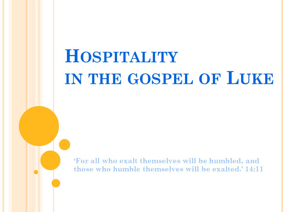 H OSPITALITY : D EFINITION Hospitality can be defined as the act of friendship shown a visitor.