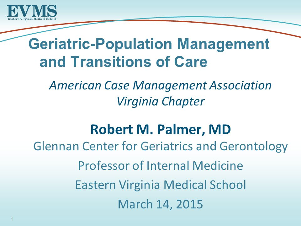 American Case Management Association Virginia Chapter Robert M.