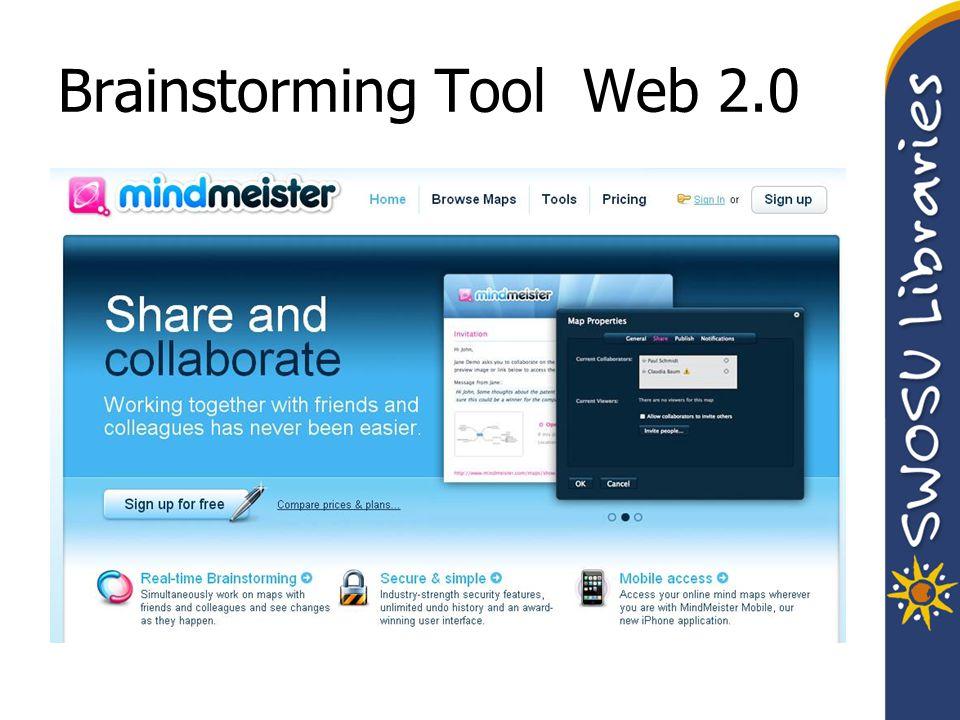 Brainstorming Tool Web 2.0