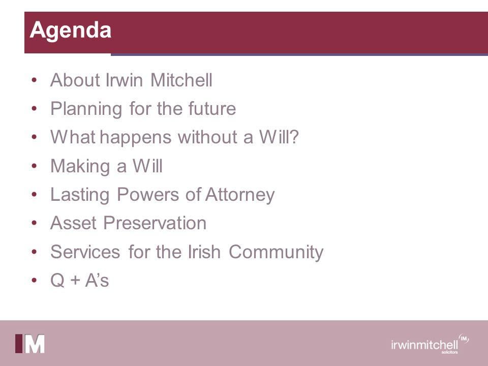 About Irwin Mitchell