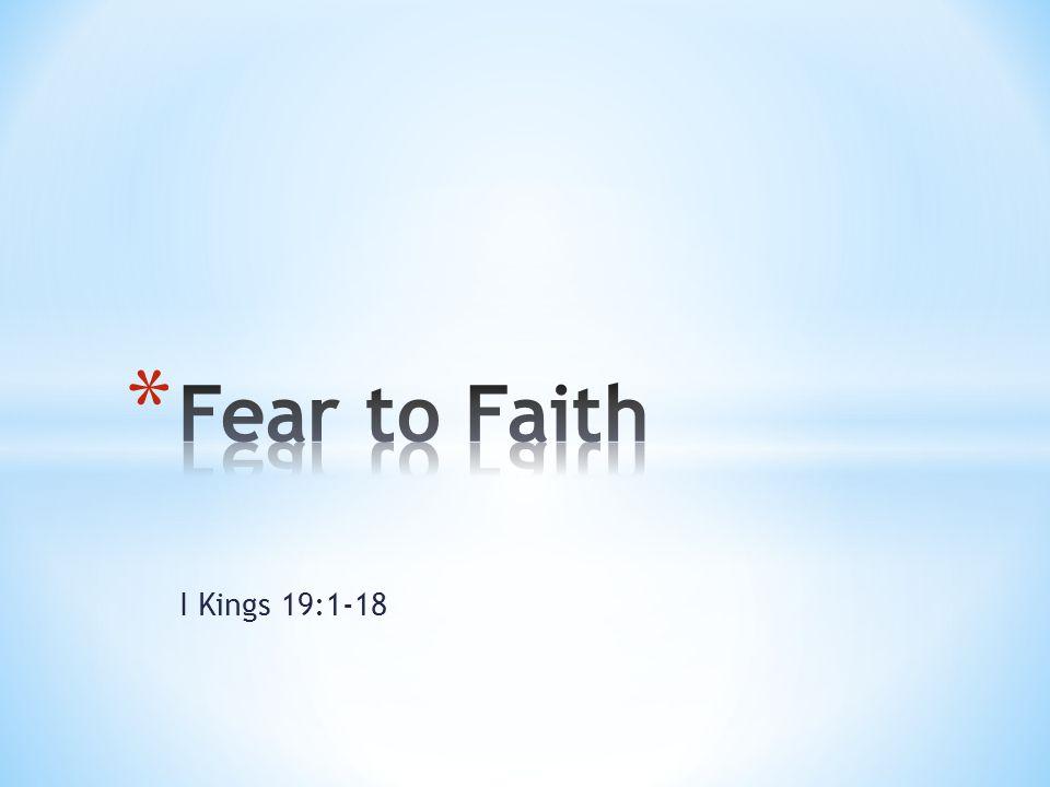 I Kings 19:1-18