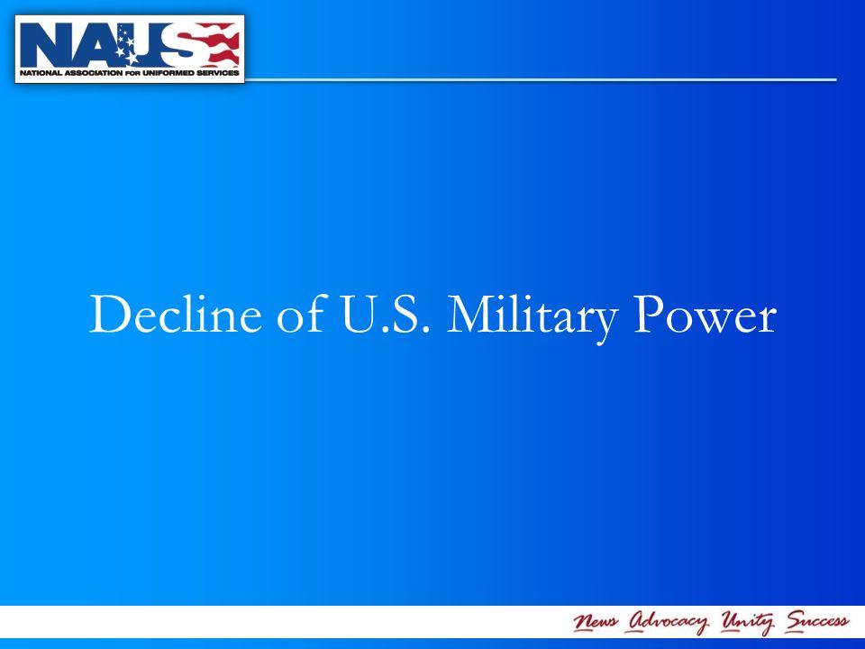 Decline of U.S. Military Power