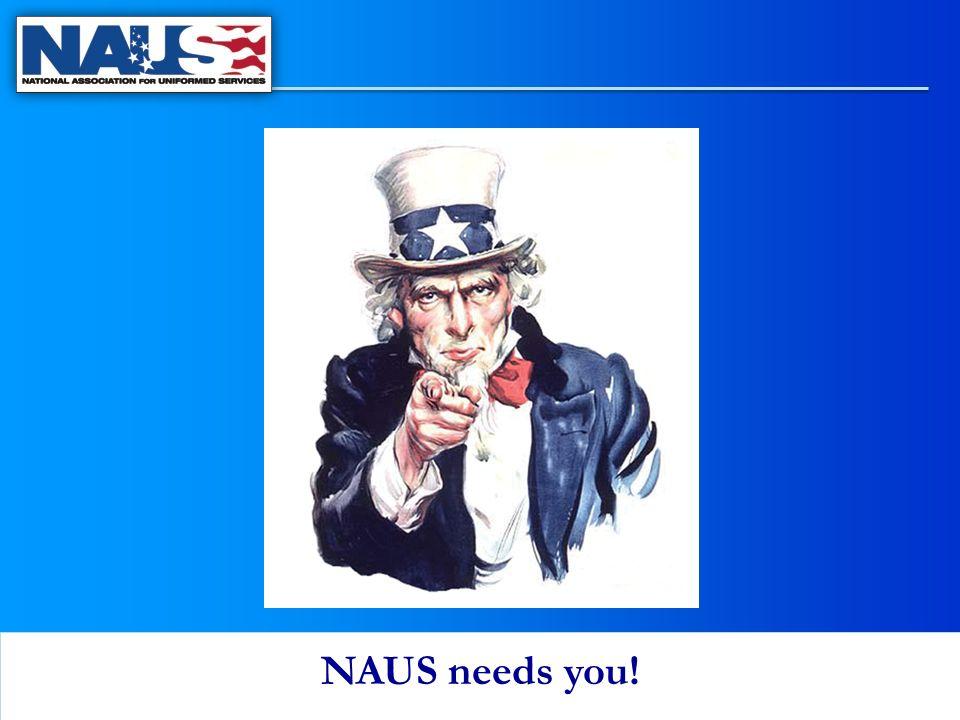 NAUS needs you!
