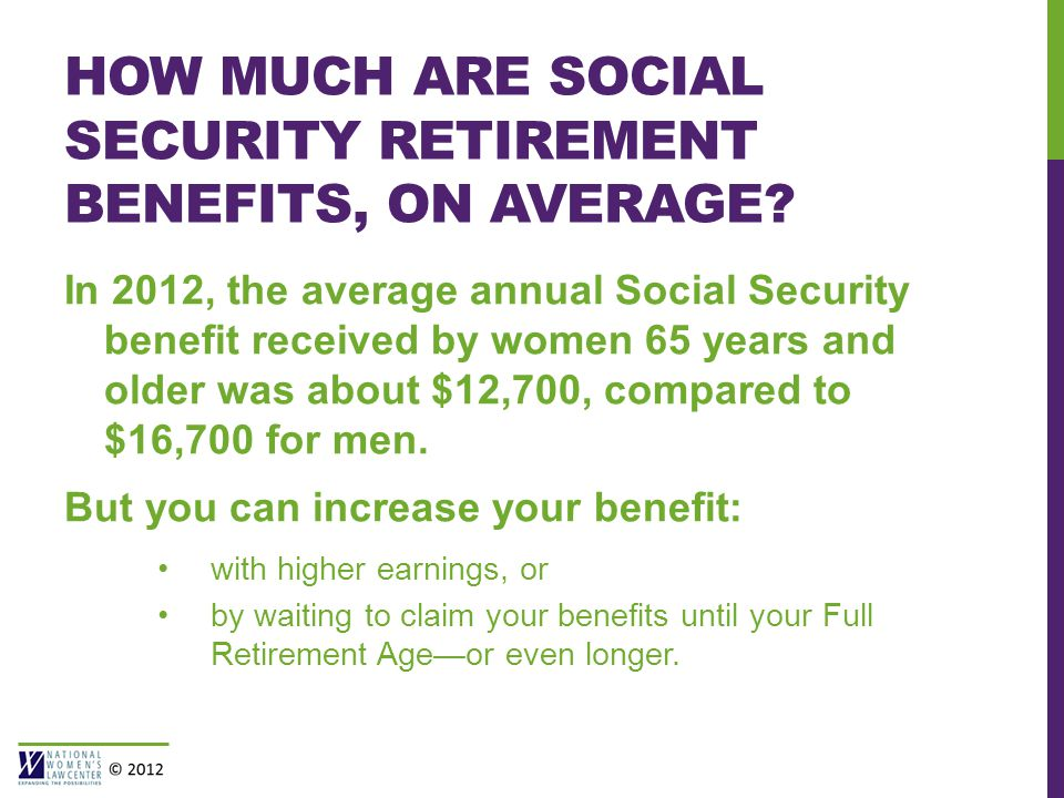 HOW MUCH ARE SOCIAL SECURITY RETIREMENT BENEFITS, ON AVERAGE.
