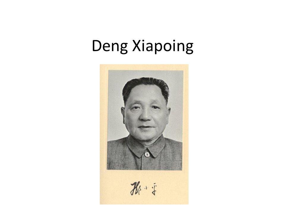 Deng Xiapoing
