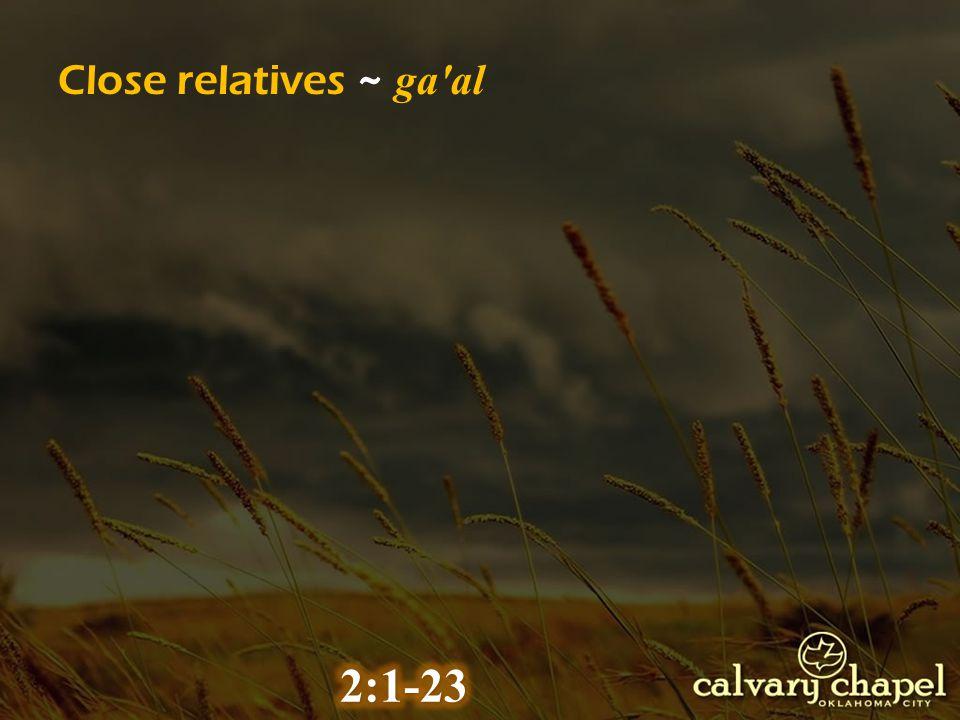 Close relatives ~ ga al