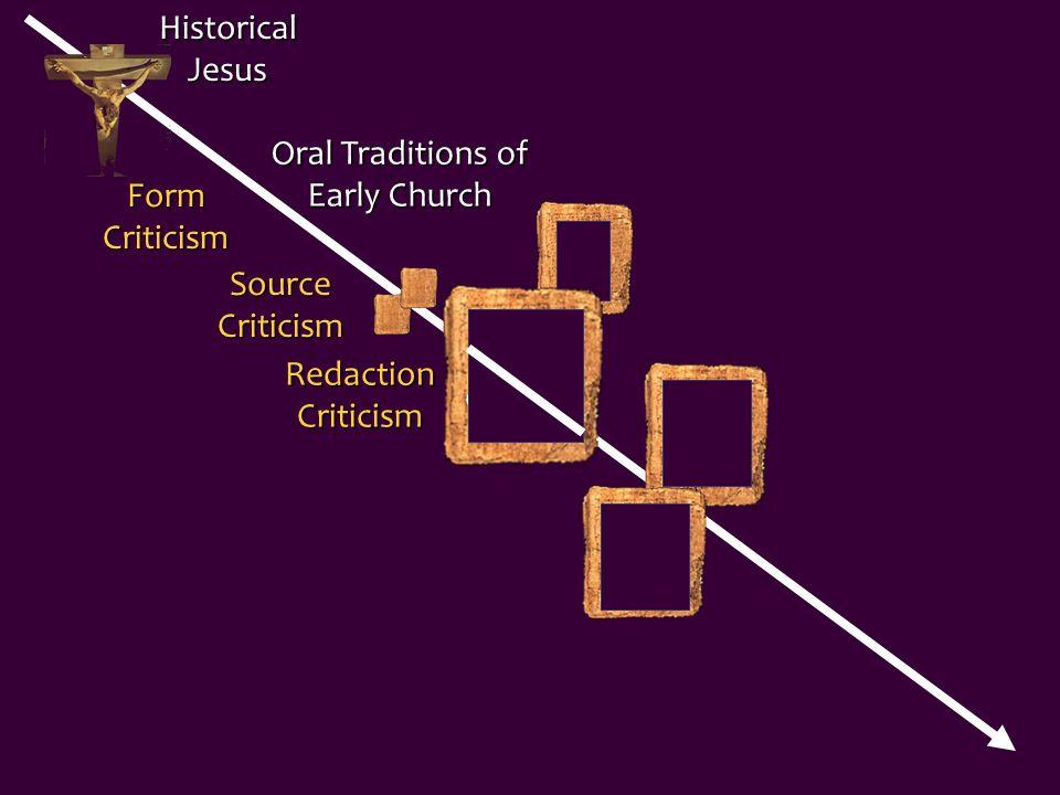 Q Historical Jesus Oral Traditions of Early Church Gospel of Luke Gospel of Matthew Source Criticism Redaction Criticism Form Criticism Gospel of Mark