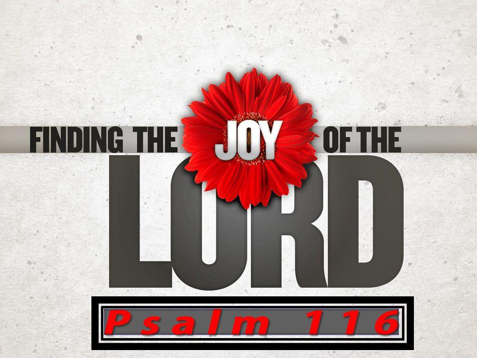 Psalm 116:1-19 My Devotion My Devotion My Distress My Distress My Deliverance My Deliverance  116:1, 2  116:3  116:4-8