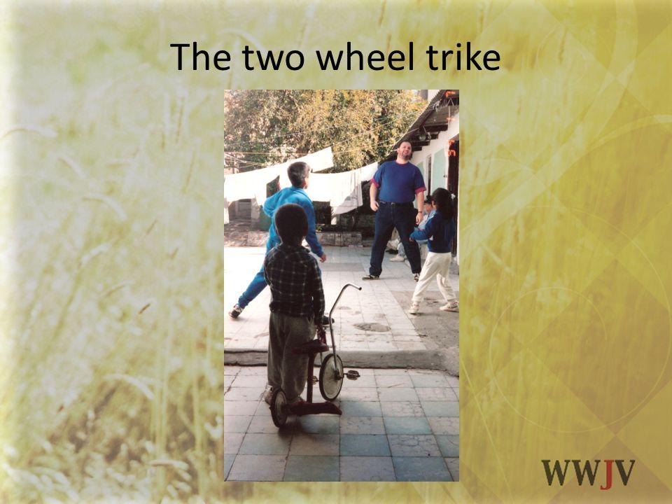 The two wheel trike