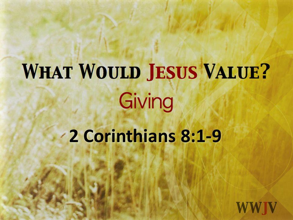 2 Corinthians 8:1-9