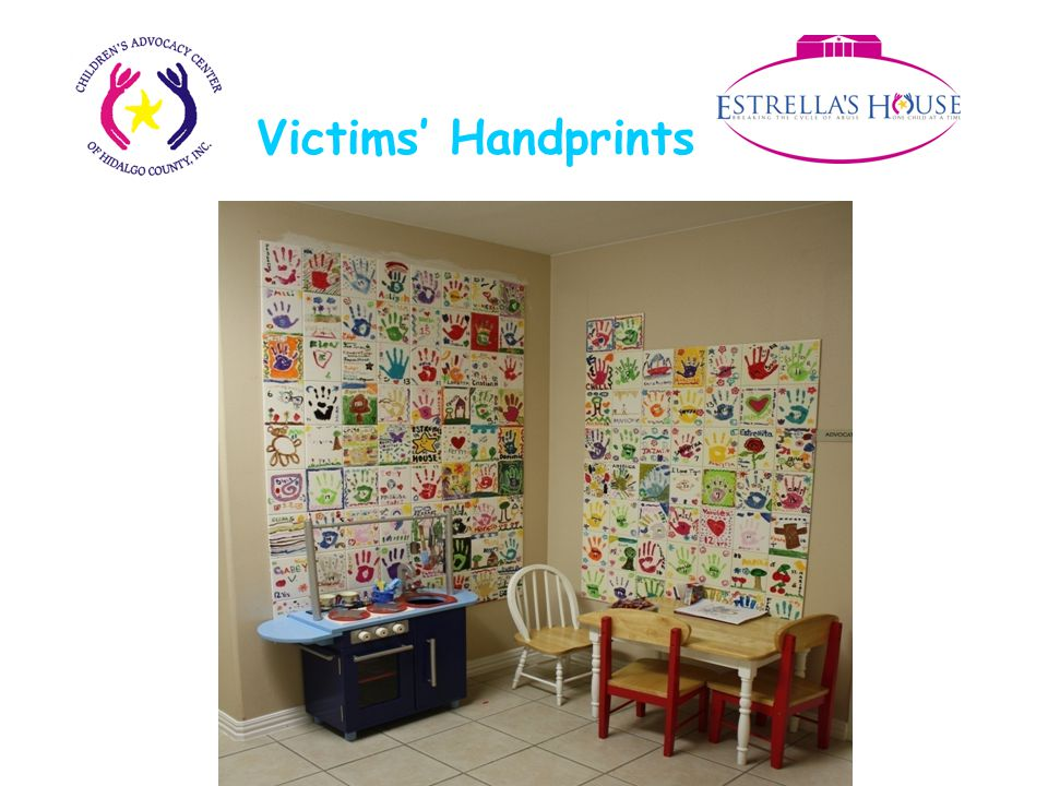 Victims' Handprints