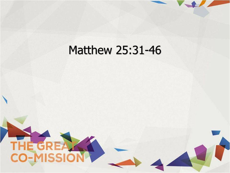 Matthew 25:31-46
