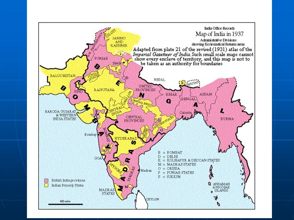 Growth of Nationalism Railroads & telegraph connections established by British foster Indian identityRailroads & telegraph connections established by British foster Indian identity Western education spreads ideas of govWestern education spreads ideas of gov 1.Indian National Congress Often urban, British educated, HindusOften urban, British educated, Hindus 2.Muslim League