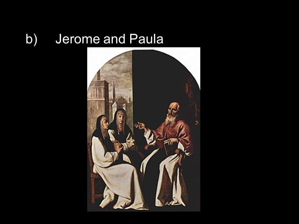 b)Jerome and Paula