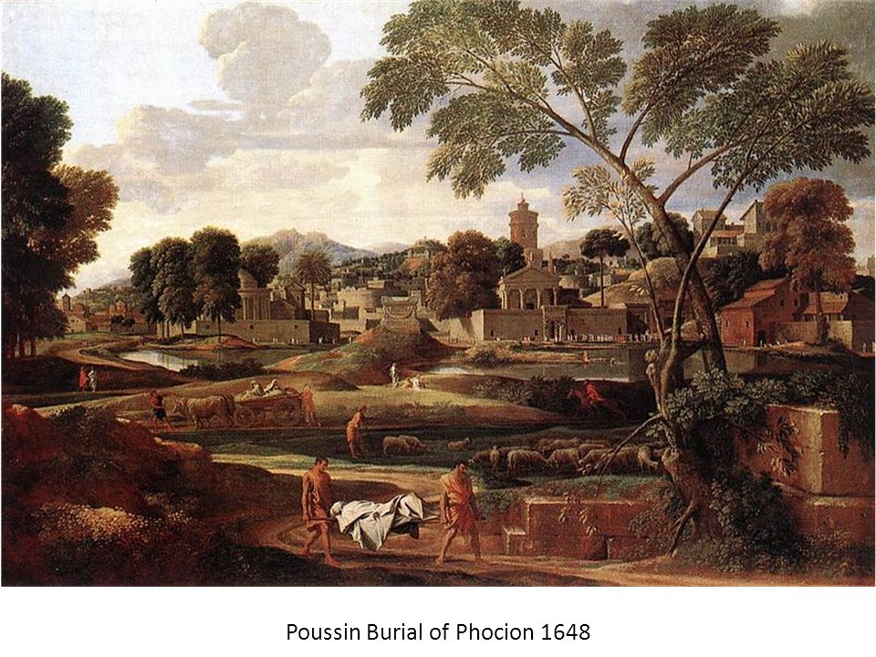 Poussin Burial of Phocion 1648