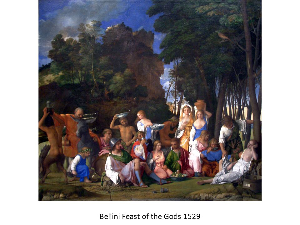Bellini Feast of the Gods 1529