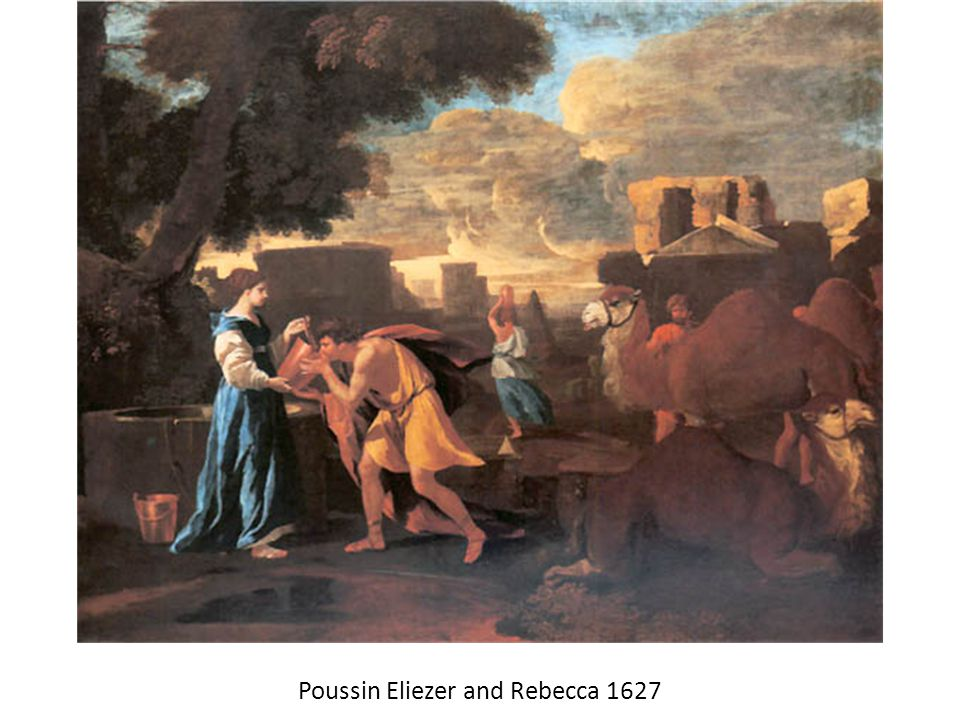 Poussin Eliezer and Rebecca 1627
