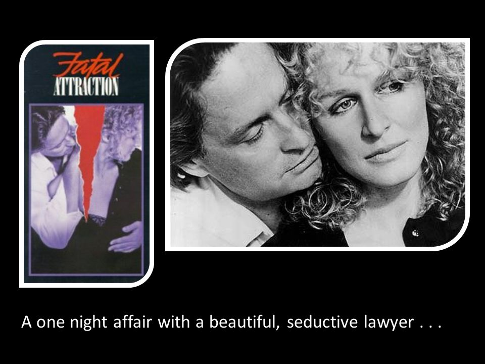 A one night affair with a beautiful, seductive lawyer...