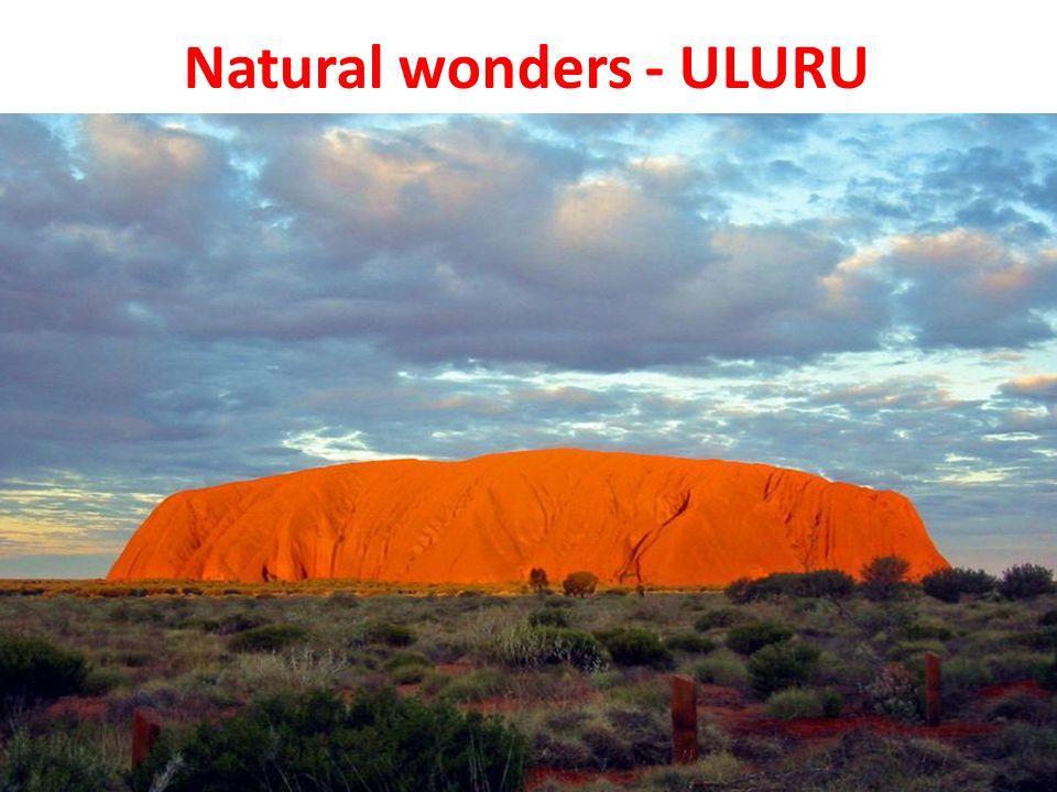 Natural wonders - ULURU
