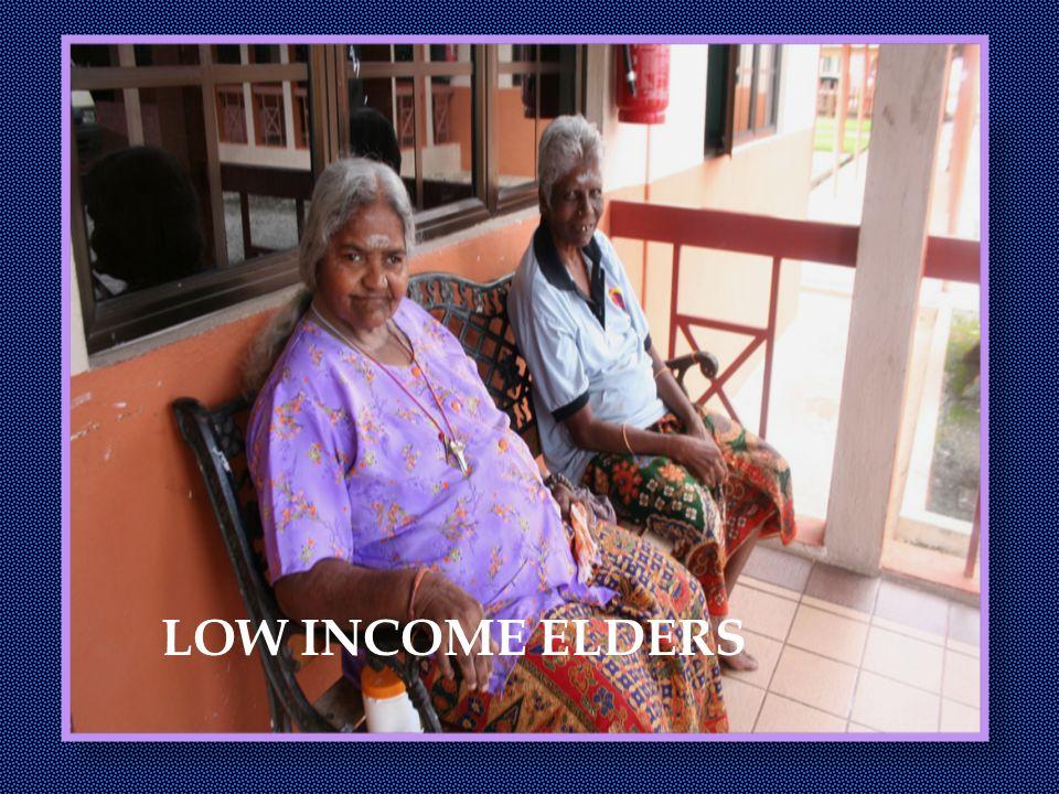 LOW INCOME ELDERS