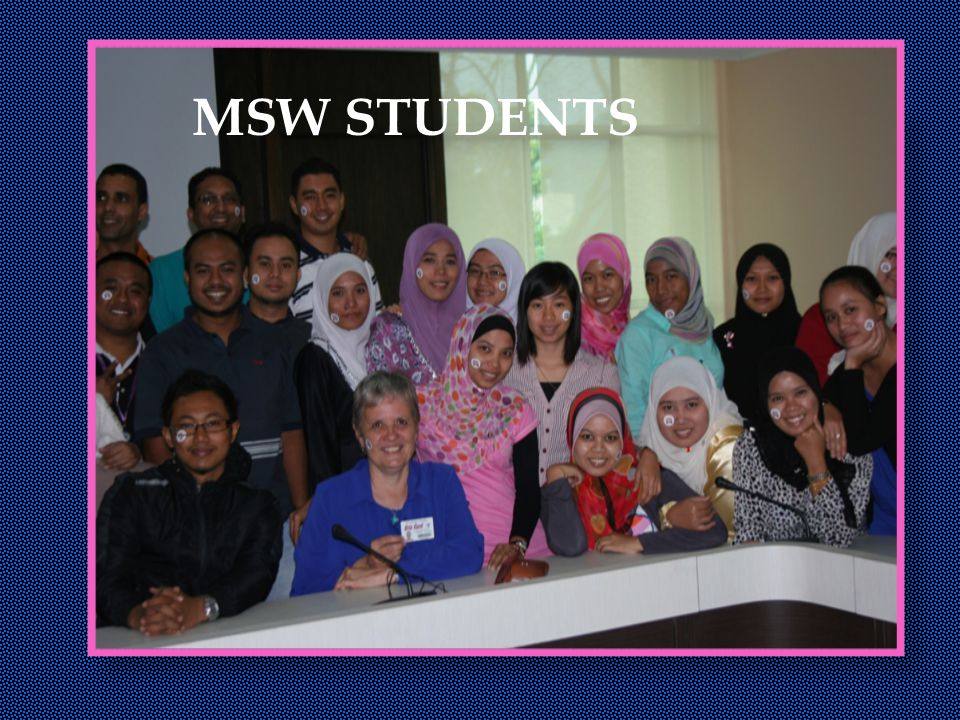MSW STUDENTS