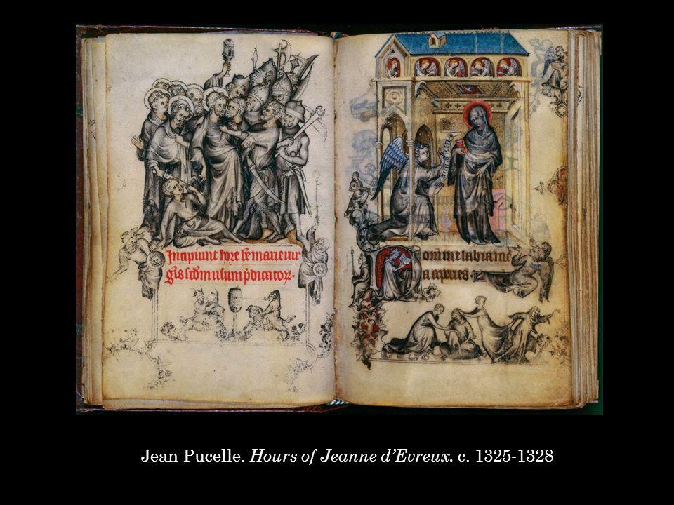Jean Pucelle. Hours of Jeanne d'Evreux. c. 1325-1328