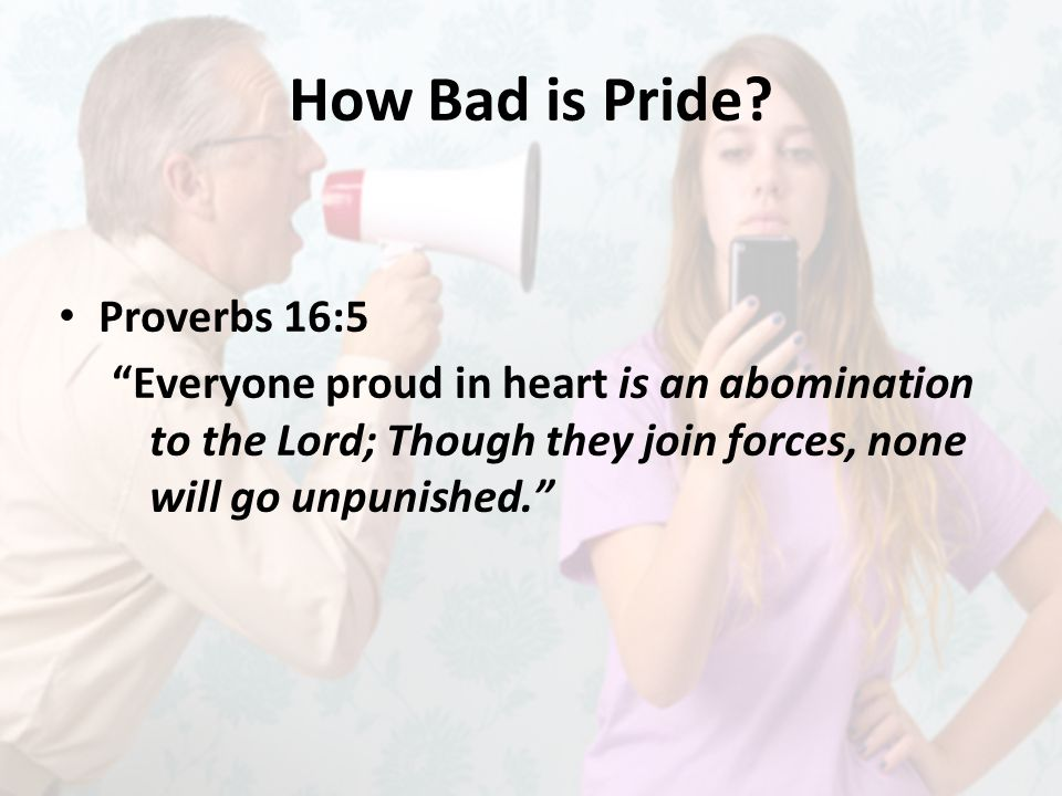 How Bad is Pride.