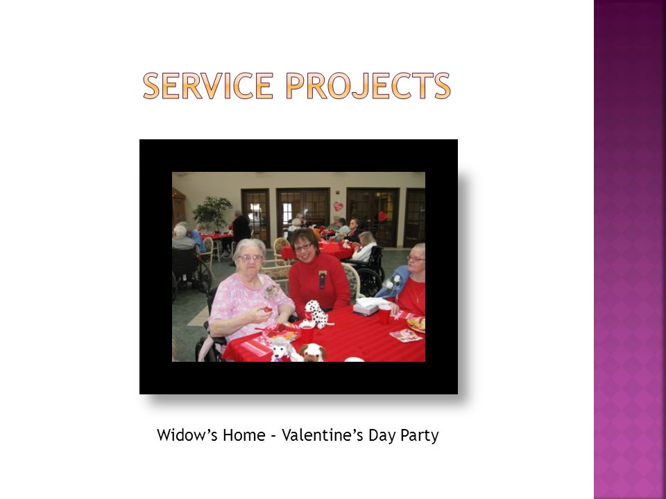 Widow's Home – Valentine's Day Party