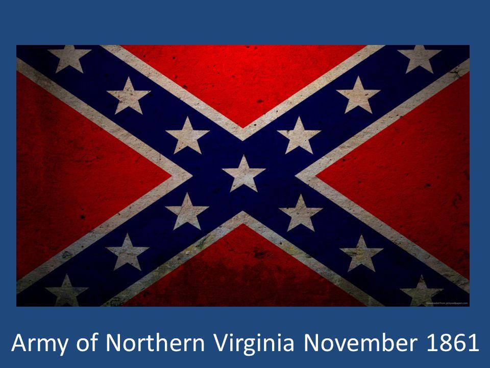 Army of Northern Virginia November 1861