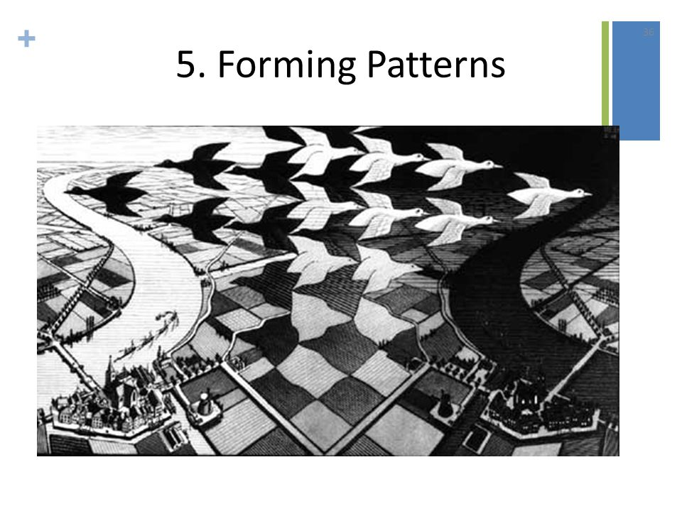 + 5. Forming Patterns 36