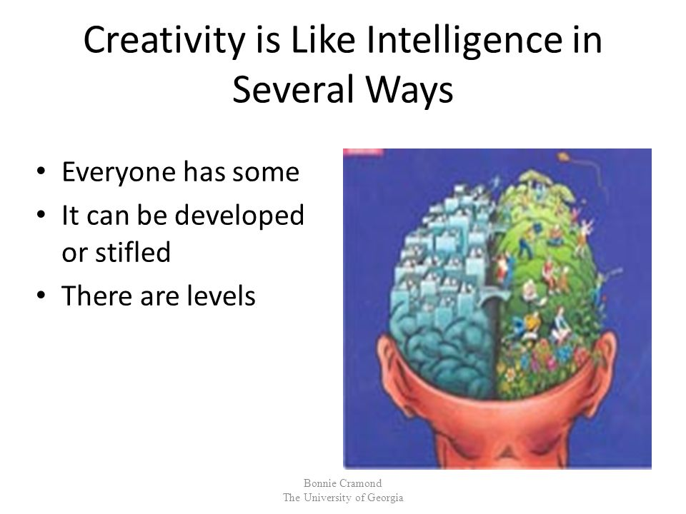 + 13.Synthesizing Creative people combine thoughts, fields, senses, modes, etc.
