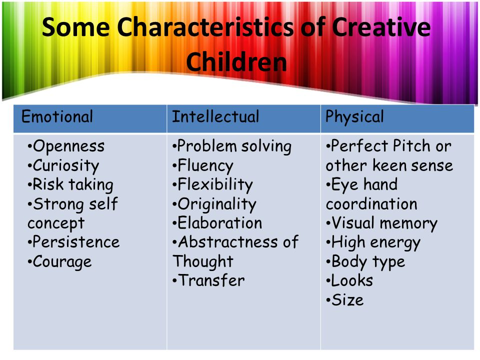 How Can We Nurture Creativity.Learn about creativity.