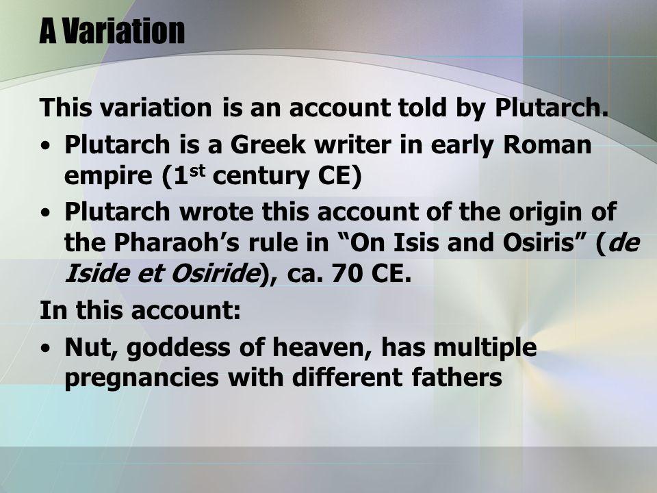 Some further elements: Seth accuses Horus of being Isis' illegitimate son, so unworthy to inherit Osiris' throne.