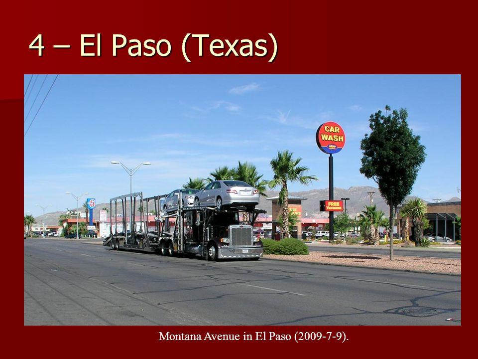 4 – El Paso (Texas) Montana Avenue in El Paso (2009-7-9).