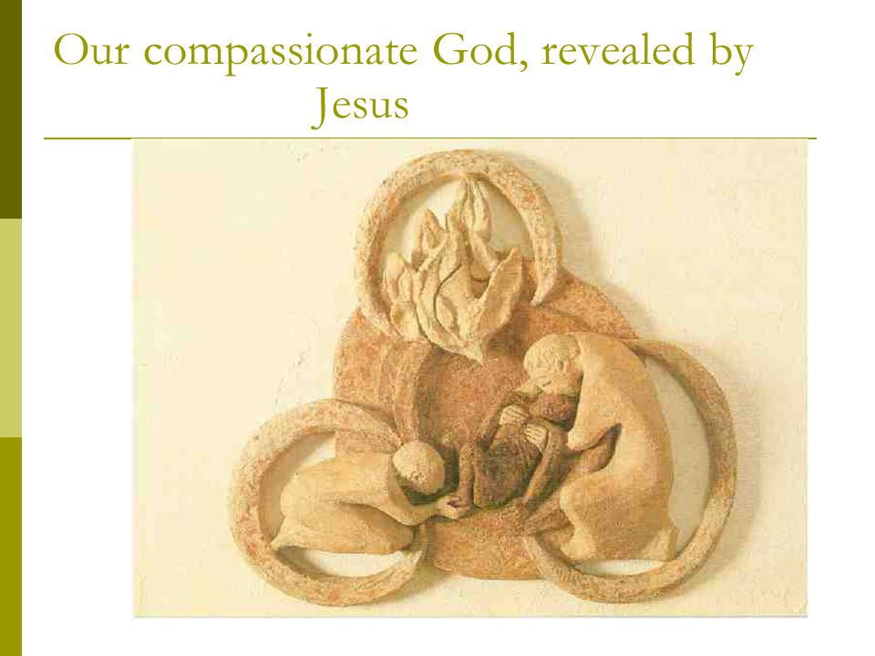 Our compassionate God, revealed by Jesus