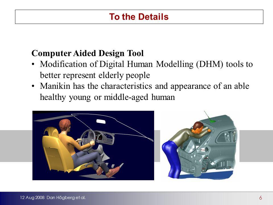 6 12 Aug 2008 Dan Högberg et al.