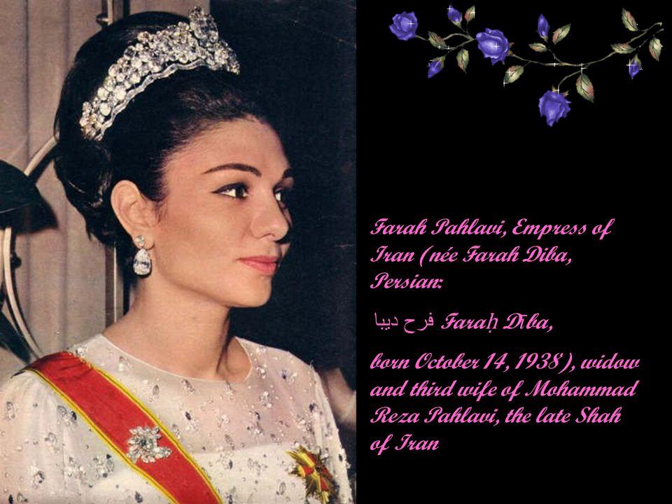 Last portrait of Soraya Esfandiary Bakhtiary 2001
