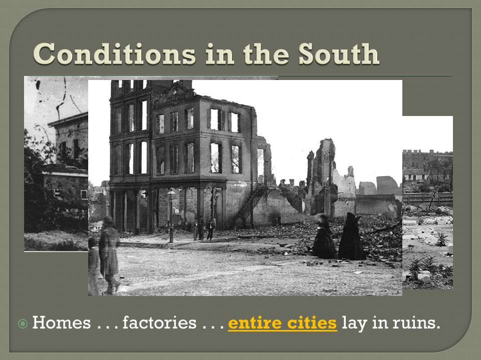  Homes... factories... entire cities lay in ruins.