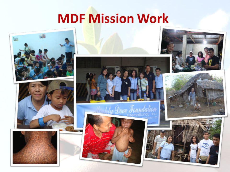MDF Mission Work