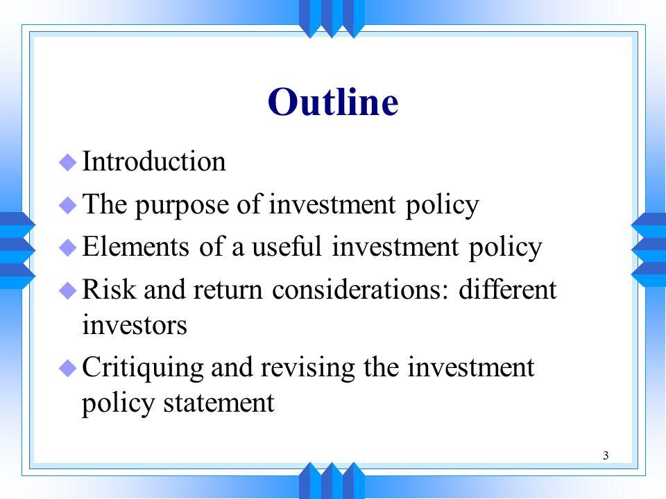 34 Provide A Mechanism for Evaluation u The dual aspect of evaluation u Choosing the benchmark