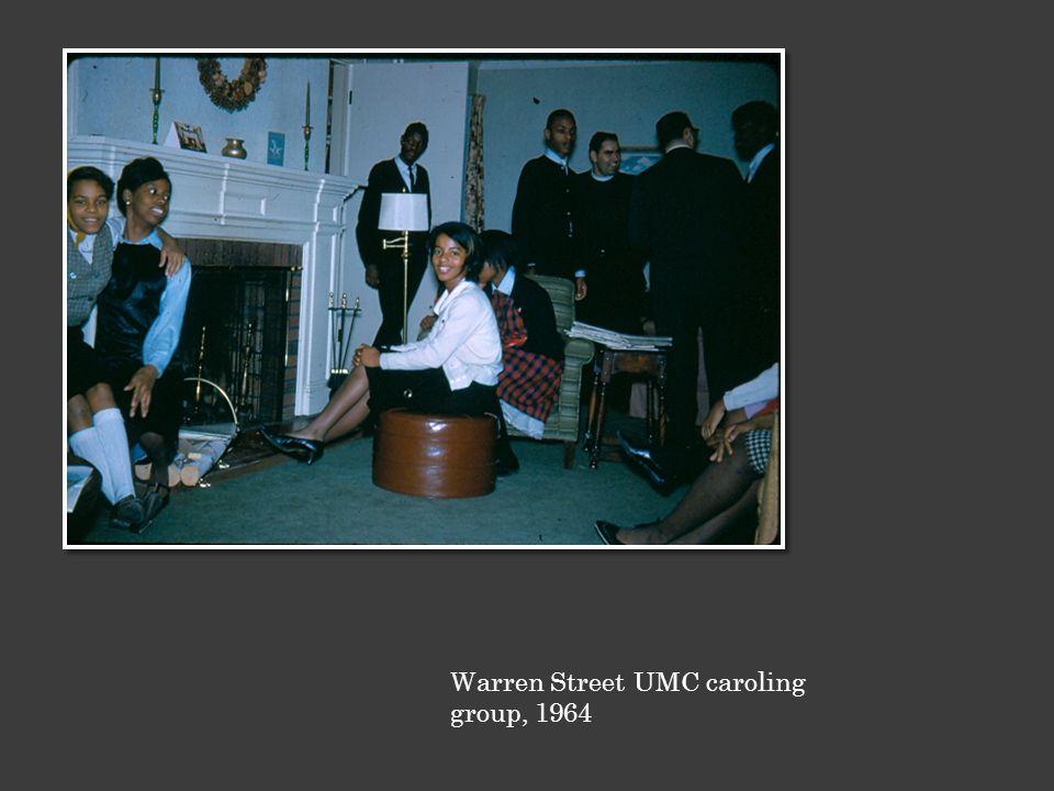 Warren Street UMC caroling group, 1964