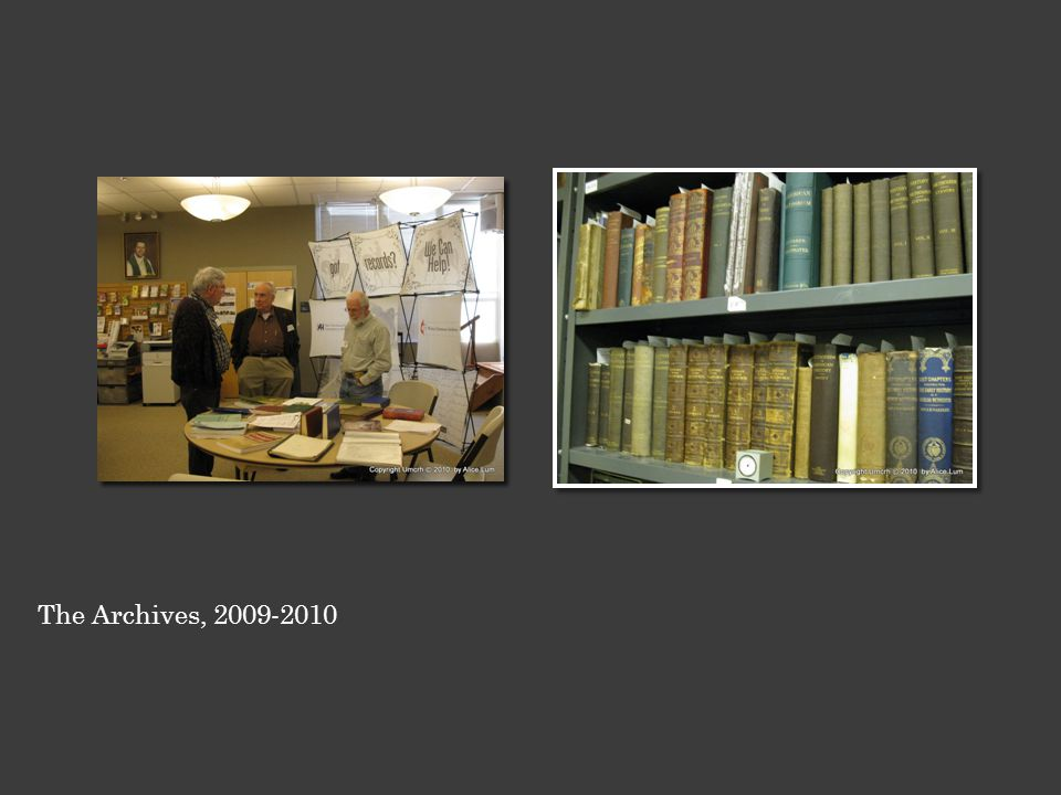 The Archives, 2009-2010