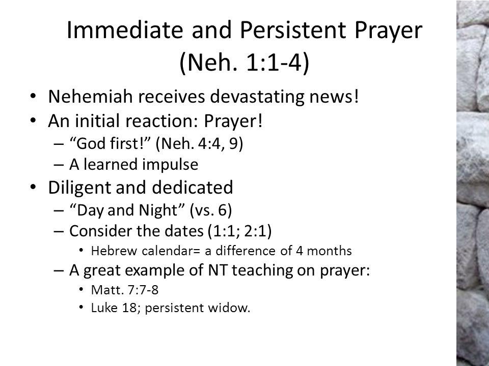 Prayer based on God's Promises (Neh.1:8-10) Nehemiah – Recalls the curses- Lev.