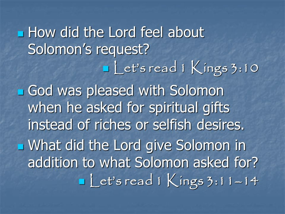 Why were wisdom and an understanding heart so important to Solomon.
